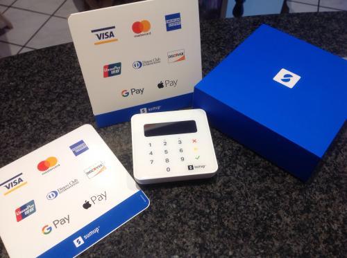 Karten-Zahlung möglich